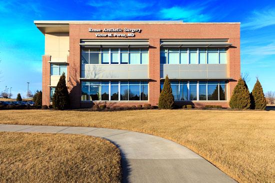Exterior Office - Renue Aesthetic Surgery - Dr. Victor Perez - Kansas City, KS
