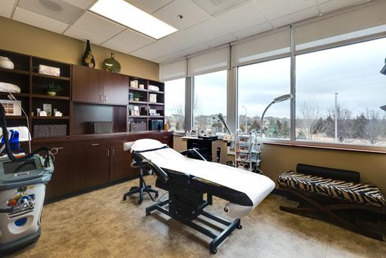 Treatment Room 1 - Renue Aesthetic Surgery - Dr. Victor Perez - Overland Park, KS