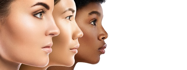 Women with diverse skin types with rejuvenated skin following HydraFacial
