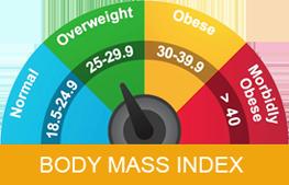 Body Mass Index Chart For Men & Women