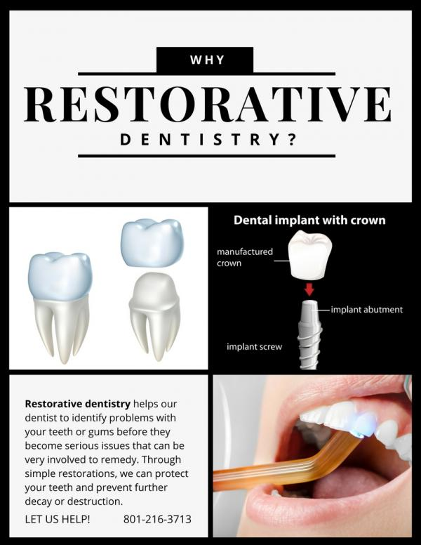 diagram on Why Restorative Dentistry?