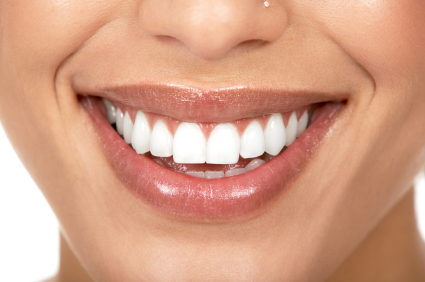 Porcelain Veneers on an Up Close Smile | Warr Dental