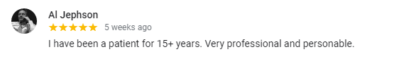 A positive review for our Salt Lake City dentist