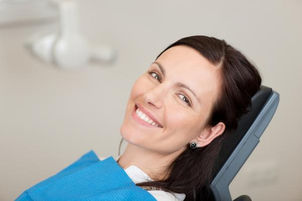 A West Jordan woman undergoes a cosmetic dentistry procedure