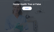 Dental Health True or False test