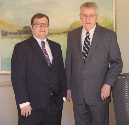 attorneys Justin and Dennis Williams